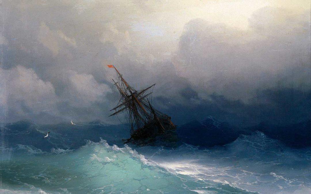 Un sito web online è come una nave in mezzo al mare.